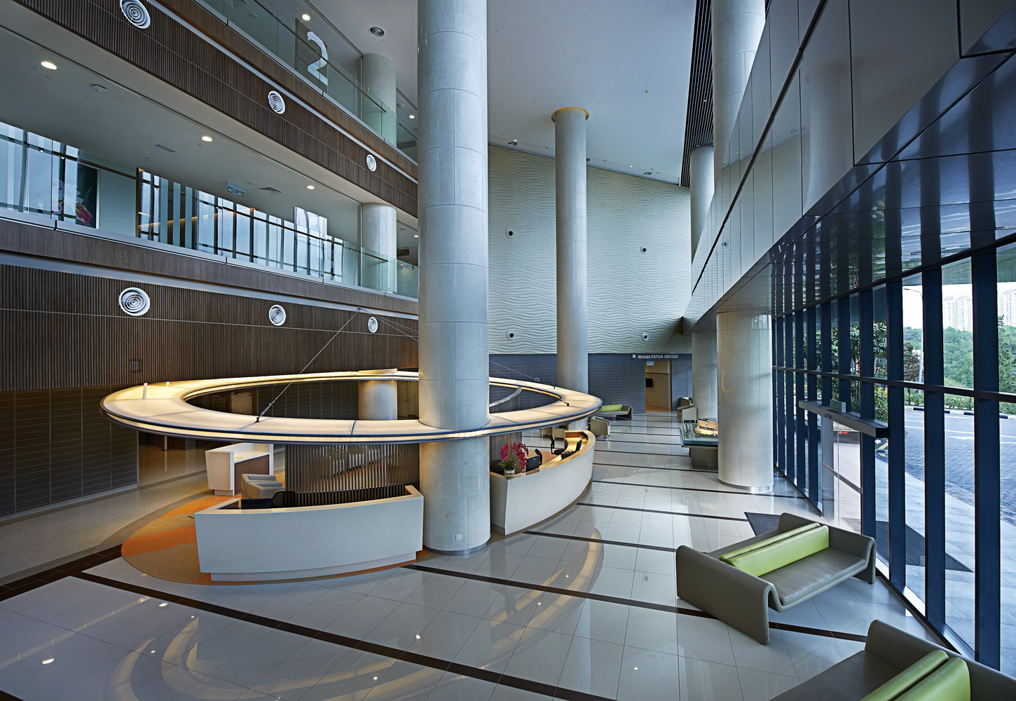Sime Darby Medical Centre Interiors, Kuala Lumpur